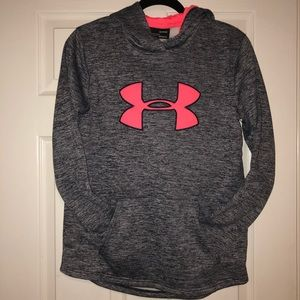 Under Armour hoodie (small) (Girls)